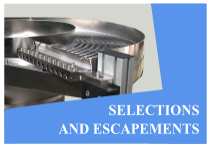Selections and escapements