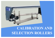 Calibration and selection rollers