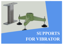 Supports for vibrators